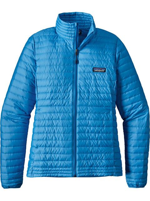 Patagonia W's Down Shirt Jacket Radar Blue